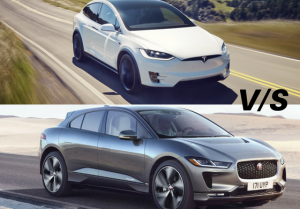 Tesla Model X vs Jaguar I-PACE Comparison