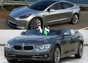BMW 3 Series vs Tesla Model 3