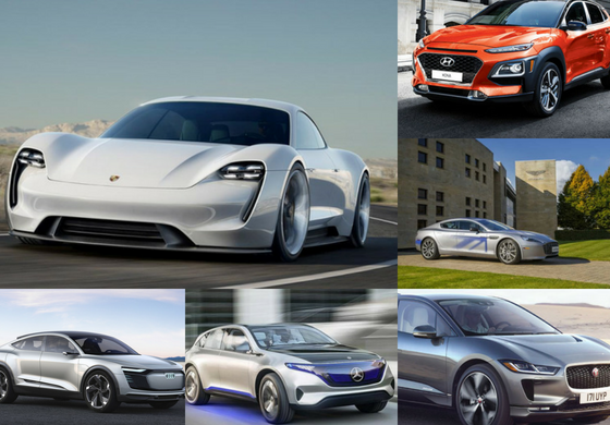 Tesla's New Competitors- Best Electric Cars from Established Companies