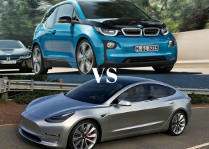 Tesla Model 3 vs BMW i3/i3s